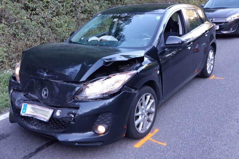 Verkehrsunfall mit 4 beteiligten Fahrzeugen