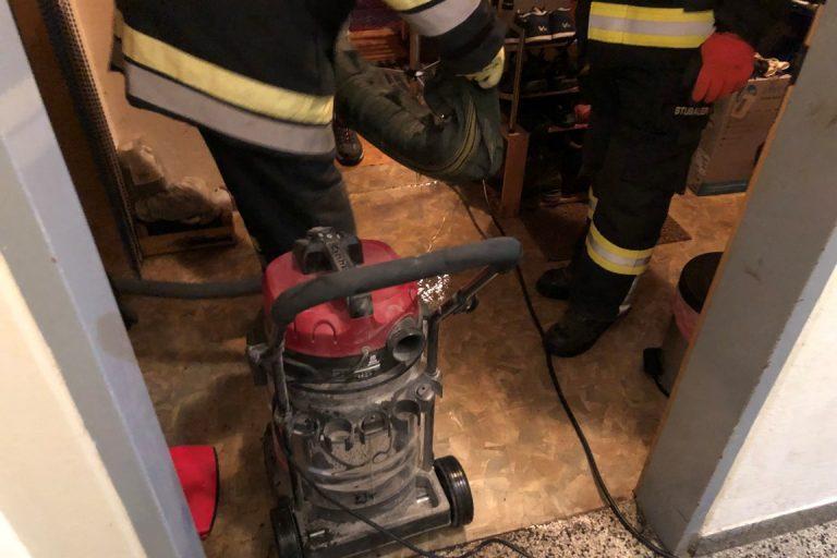 Pumparbeit aufgrund defekten Warmwasserboilers