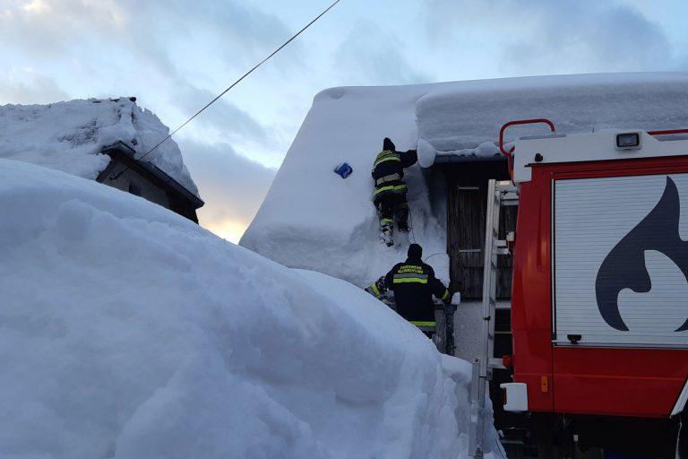 Schnee-Einsatz