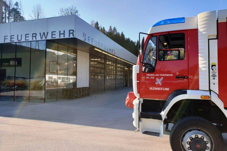 Vermeintlicher Heizungsbrand in Weyer
