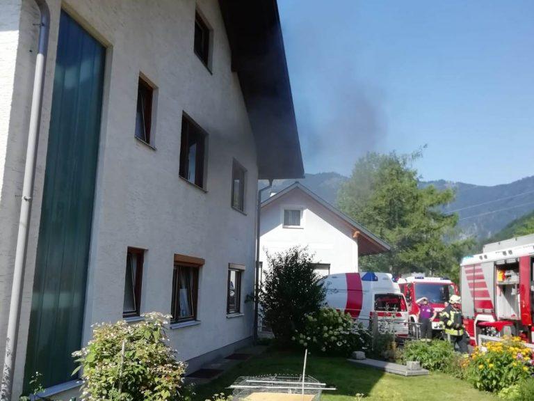 Küchenbrand in Weyer