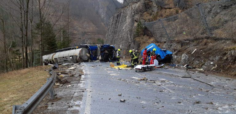 Tödlicher Verkehrsunfall | B115 – km 73,5