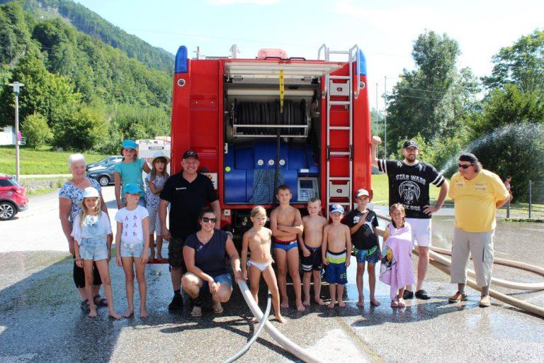 Das Highlight im Sommer: Ferienspaß bei der Feuerwehr 💦